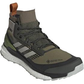 adidas TERREX Free Hiker GORE-TEX Wanderschuhe Herren raw khaki/sesame/tech olive